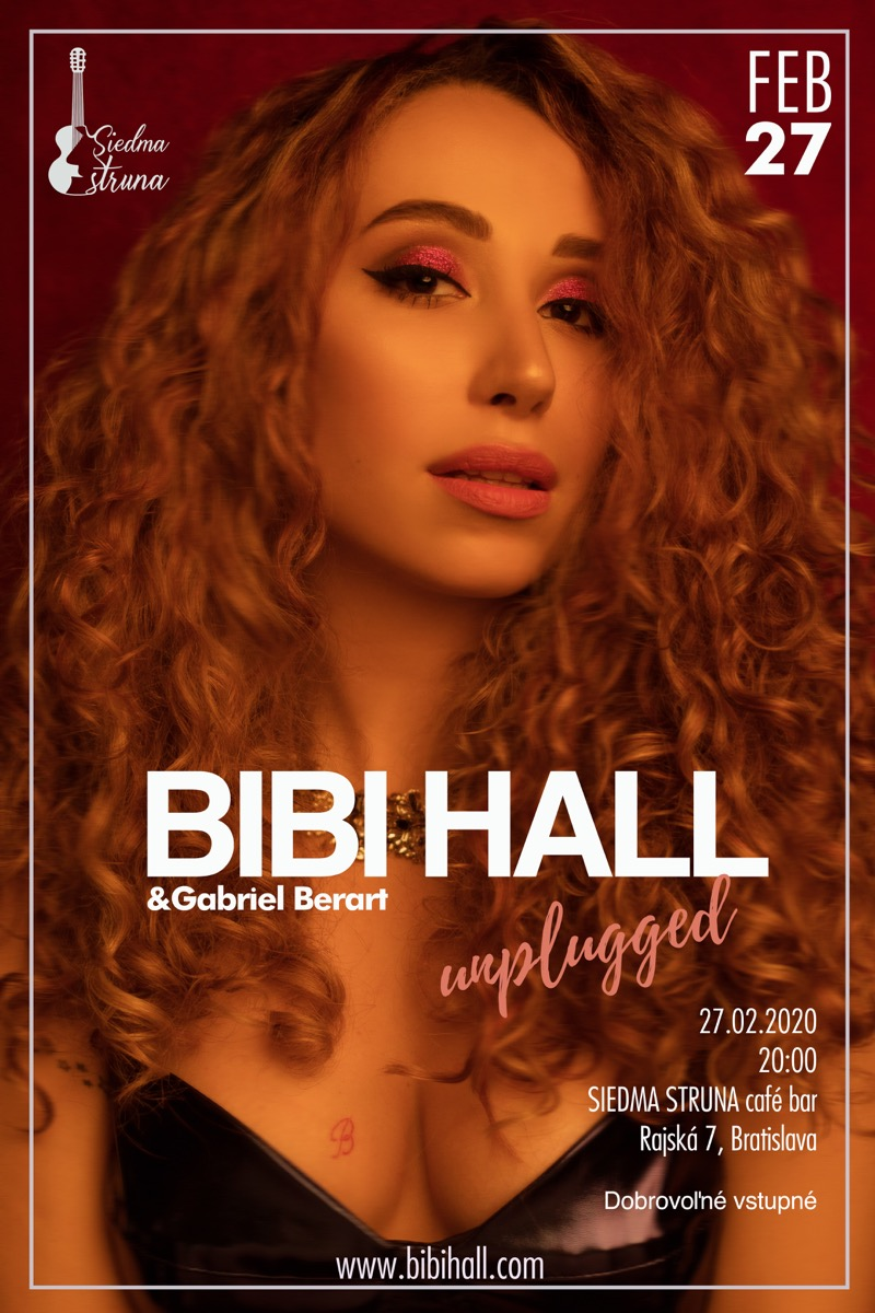 2020 02 27 BIBI HALL unplugged plagat fb