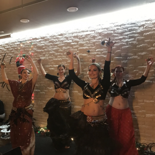 X-MAS HAFLA FUSION BELLYDANCE PARTY WITH LIVE ORIENTAL MUSIC